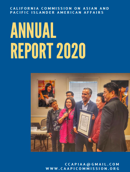 Cover of Annual Report, 2020